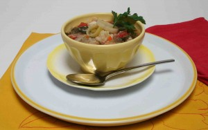 small ten-vegetable-soup
