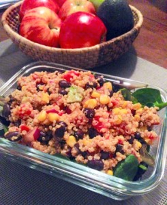 my Mexican Quinoa Salad
