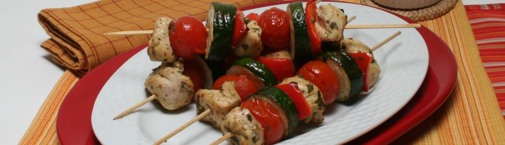 Barbecue Favorite: Healthy Chicken Kebabs