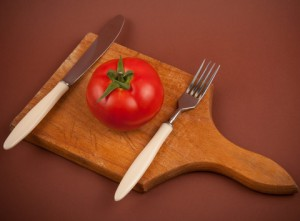 http://www.dreamstime.com/royalty-free-stock-photography-tomato-plate-image20125697