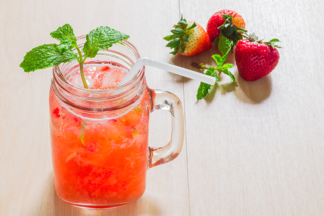 Summer Drinks with Less Sugar