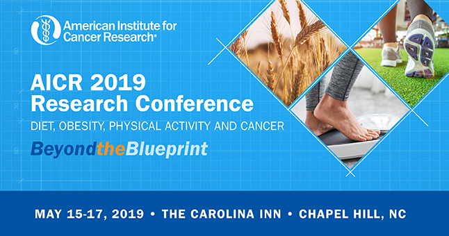 Moving and Eating Better: Going Beyond the Blueprint at #AICR19